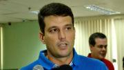 Alessandro Bronze concedeu entrevista ao AMAZONAS ATUAL no lugar de Henrique Oliveira (Foto: Valmir Lima)