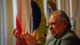 Amazonino Mendes é uma aposta do grupo de Melo e Omar para assumir o governo do Amazonas (Foto: Raphael Alves/TJAM)