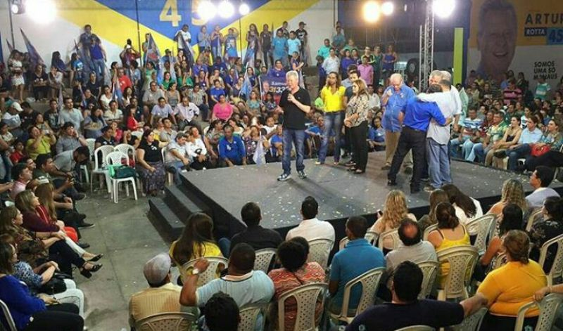 Reunião do prefeito Arthur Virgílio Neto com professores da rede municipal de ensino no dia 25 de agosto (Foto: Divulgação)