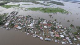 Coleta de dados sobre cheias na Amazônia será usada para prevenir impactos (Foto: Divulgação)