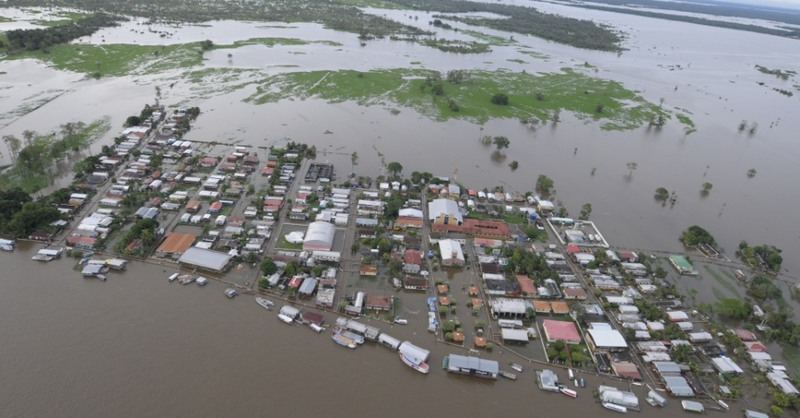 Estados do Norte e Nordeste começam a receber alertas de desastres naturais