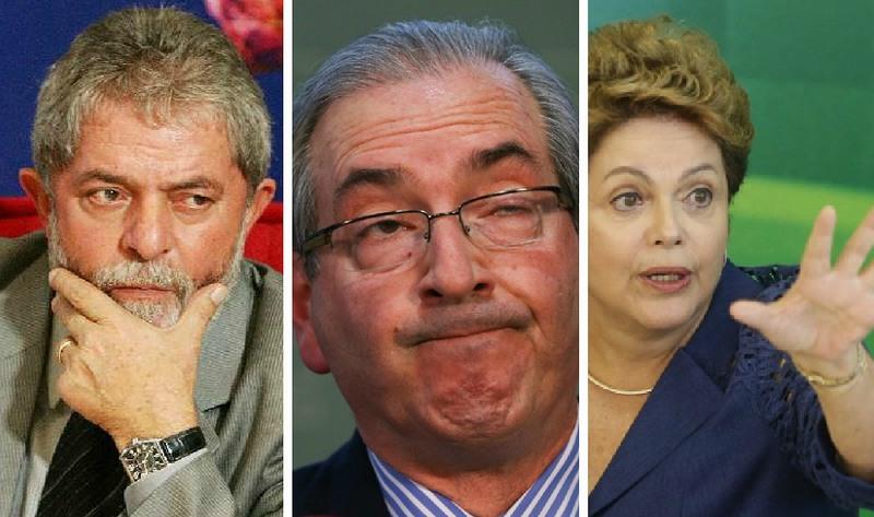 Denúncia contra Lula e cassação de Cunha e Dilma geraram descrédito político, dizem especialistas