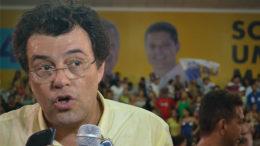 Eduardo Braga comemorou a vitória de Arthur Virgílio Neto depois de 12 anos de jejum em Manaus (Foto: Valmir Lima)