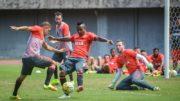 Jogadores do Flamengo fizeram treino técnico na manhã dessa sexta-feira para jogo contra o Vitória-BA (Foto: Gilvan de Souza/Flamengo)