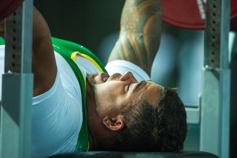 22/01/2016. Evento-Teste. Halterofilismo. Parque Olímpico. Barrada Tijuca. Parque Olimpico. Arena Carioca.01. Rio de janeiro. BRASIL.