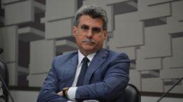 Senador Romero Jucá alegou que decisão de apoiar ação foi do partido e não do presidente Michel Temer (Foto: Ag. Senado)