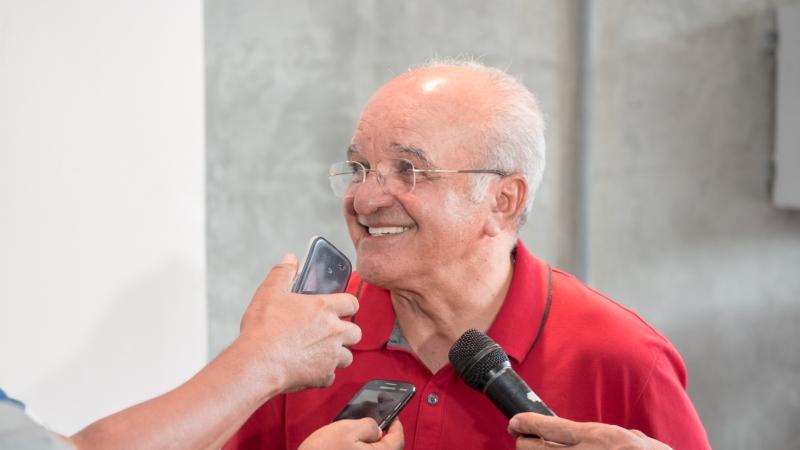 O governador José Melo aposta na absolvição no Tribunal Regional Eleitoral do Amazonas (Foto: Vitor Souza/Secom)