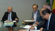 Governador José Melo e o secretário da Sefaz, Afonso Lobo: promessa não cumprida (Foto: Herick Pereira/Secom)