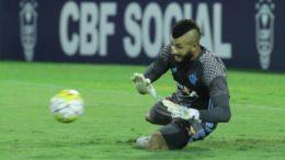 Goleiro Muralha, do Flamengo, é a novidade na Seleção que terá a volta de jogadores (Foto Gilvan de Souza/Flamengo)