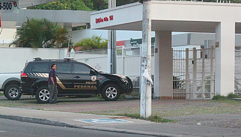 Policiais federais fizeram busca e apreensão em condomínios residenciais em Manaus (Foto: Divulgação)