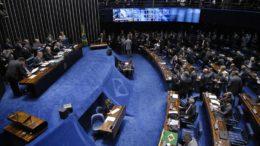 Plenário do Senado votou por manter direitos políticos da presidente cassada Dilma Rousseff (Foto: Ag. Senado)
