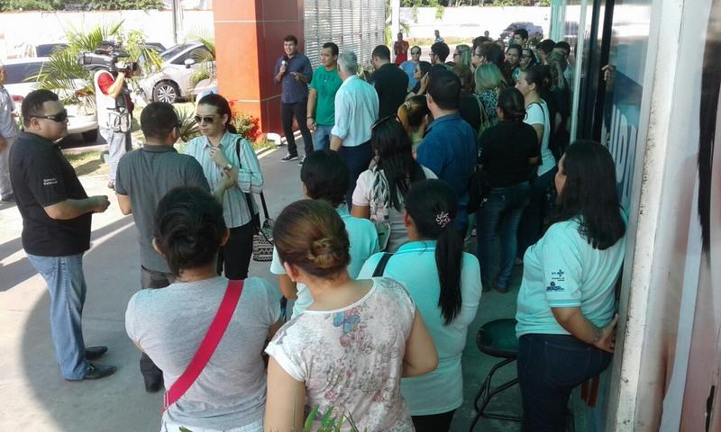 Susam informou que unidade ficou com a porta fechada devido a protesto de terceirizados (Foto: Divulgação)