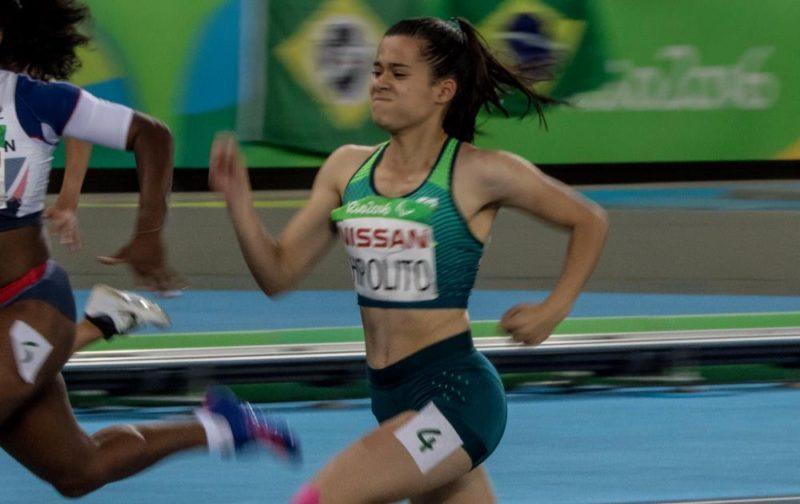 Brasileira fez o terceiro melhor tempo na final dos 400m rasos da classe T38 (Foto: Daniel Zappe/MPIX/CPB)