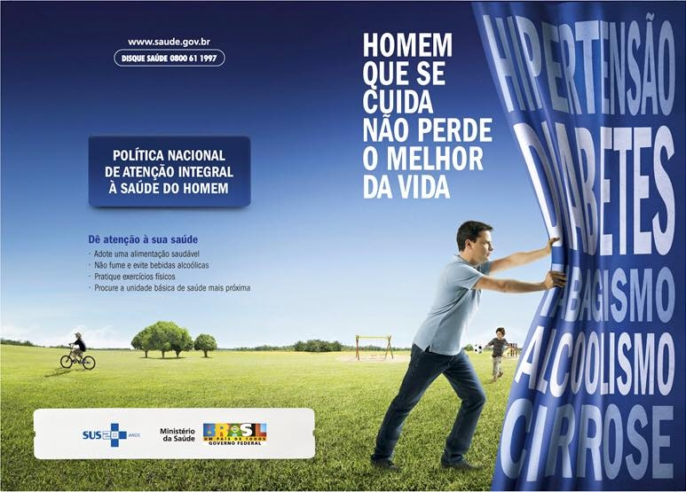 Política nacional de atenção integral à saúde do homem. (Foto: Divulgação/SUS)