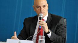 Brasília- DF- BRaisl- 29/09/2016- O Ministro da Justiça, Alexandre de Moraes, participa da abertura da reunião do Conselho Nacional dos secretários de justiça, Cidadania, Direitos Humanos e Administração Penitenciária - CONSEJ/Foto:Isaac Amorim/MJC