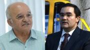 O governador José Melo e o ex-procurador-geral do Estado, Clóvis Smith Júnior (Fotos: Divulgação)