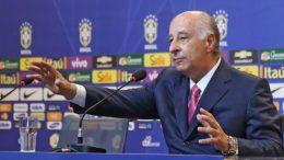 Com indiciamento de  Marco Polo Del Nero nos EUA, Fifa mantém bloqueio de dinheiro (Foto: Ricardo Stuckert/CBF)