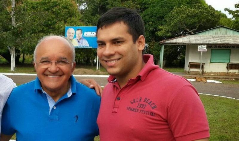 José Melo apoiou a candidatura de Platiny Soares a deputado estadual nas eleições de 2014 (Foto: Divulgação)
