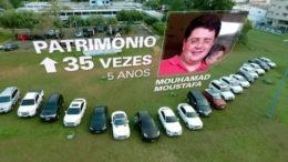Mouhamed Moustafa chefiava, de acordo com a Polícia Federal, uma organização que fraudava a saúde do Estado (Foto: Reprodução/TV Globo)