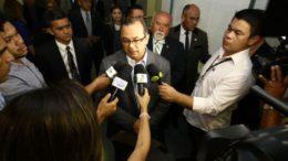 Pedro Elias de Souza prestou esclarecimentos na Assembleia Legislativa nesta terça-feira (Foto: Divulgação)