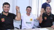 Platiny Soares (à esquerda) e Gerson (à direita) (Foto: Divulgação