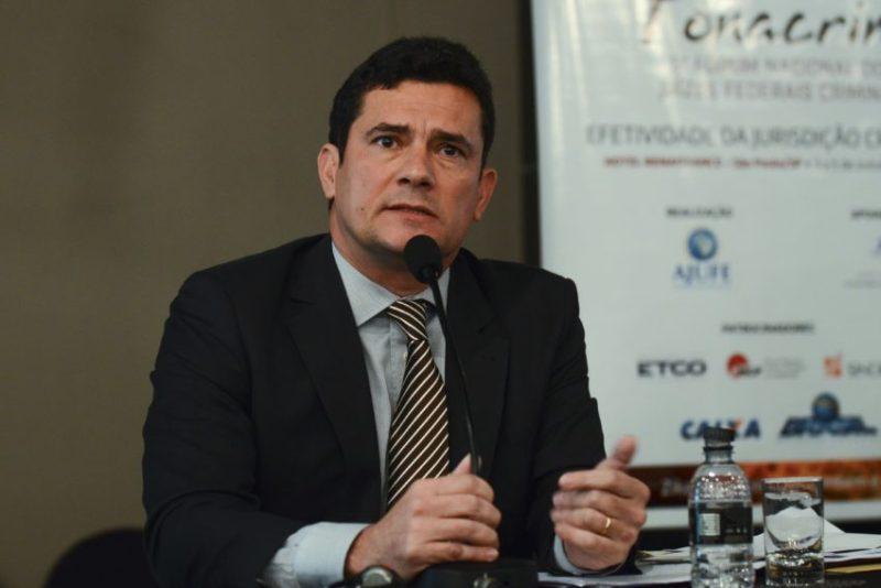 Moro, que comanda a Lava Jato, recebeu a maior votação, 319 votos (Rovena Rosa/Agência Brasil)