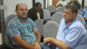 Raimundo Chicó, de Anamã, e Bruno Ramalho, de Carauari, tiveram os registros negados pelo TRE (Fotos: Rosiene Carvalho)