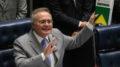 Brasília - Renan Calheiros lê em plenário a PEC 241, e informa que o Senado ingressou com ação no STF para estabelecer os limites e as competências dos Poderes do Estado (Fabio Rodrigues Pozzebom/Agência Brasil)
