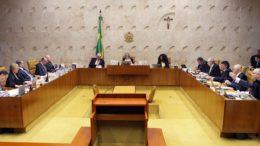 A ação foi protocolada em maio, quando o ex-presidente da Câmara Eduardo Cunha tornou-se réu STF(Foto: Nelson Jr/STF)