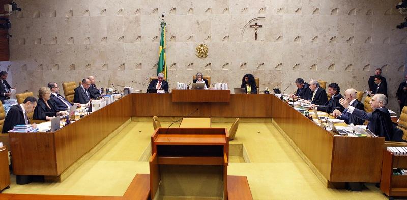 Ministros do STF se dividiram, e o placar terminou em 6 a 5 a favor da prisão antes do trânsito em julgado (Foto: Nelson Jr/STF)