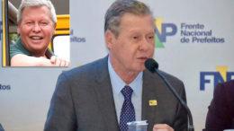 Prefeito Arthur Virgílio Neto de visual novo - no detalhe, a imagem antiga ainda no avatar do Facebook (Fotos: Divulgação)