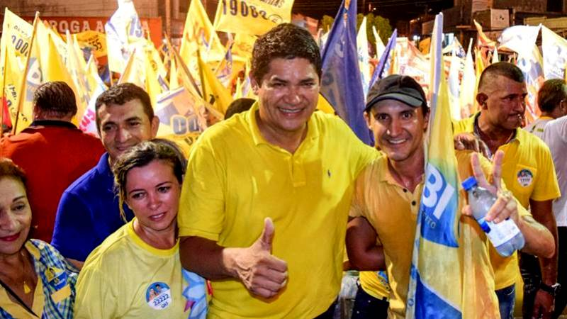 Bi Garcia foi eleito com mais de 60% dos votos válidos no maior colégio eleitoral do interior do Amazonas (Foto: Divulgação)