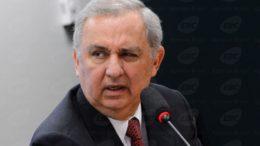 Brasília - O pecuarista José Carlos Bumlai, depõe na CPI do BNDES (Valter Campanato/Agência Brasil)