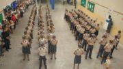 Polícia Militar cobrava por fardamento e material didático para alunos dos colégios da instituição (Foto: PM-AM/Divulgação)
