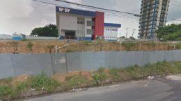Praticamente pronto, prédio do 16º DIP foi abandonado inclusive, sem mobílias (Foto: MPC/Divulgação)