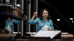 Kátia Abreu diz que auxílio a parlamentares é diferenciado (Foto: Wendel Lopes/PMDB)