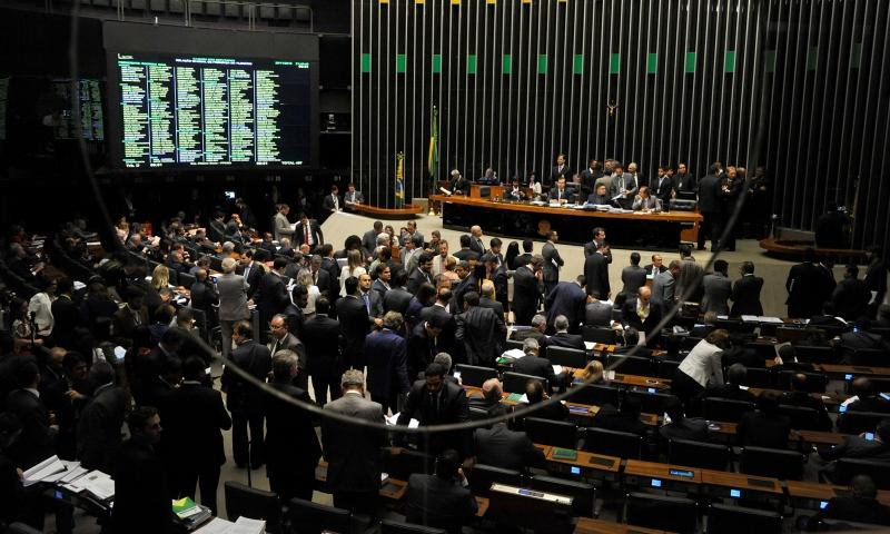 O presidente da Câmara, Rodrigo Maia, defendeu os colegas e disse que prevaleceu a vontade da maioria (Foto: Luis Macedo/Câmara dos Deputados)