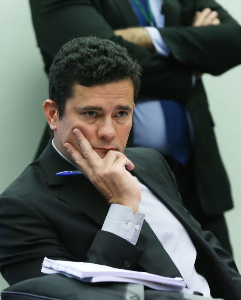 Brasília- DF 04-08-2016 Juiz Sergio Moro na comissão especial de combate a corrupção. Foto Lula Marques/Agência PT