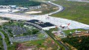 Aeroporto de Manaus operou por instrumentos na manhã desta terça (Foto: Infraero/Divulgação)