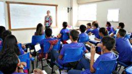 Professores das disciplinas tradicionais vão ensinar temas transversais (Foto: Seduc/Divulgação)