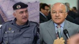 Coronel Franclides disse que está disposto a colaborar no processo contra o governador José Melo (Fotos: Divulgação)