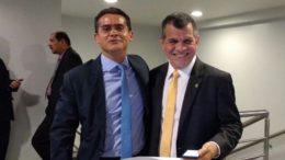 David Almeida diz que Bosco Saraiva é um nome da base aliada do governador José Melo (Foto: Rosiene Carvalho)