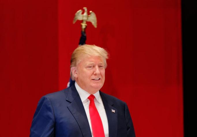 Antes de tomar posse, o presidente Trump afirmou que o México pagará pelo muro (Fotos Públicas)