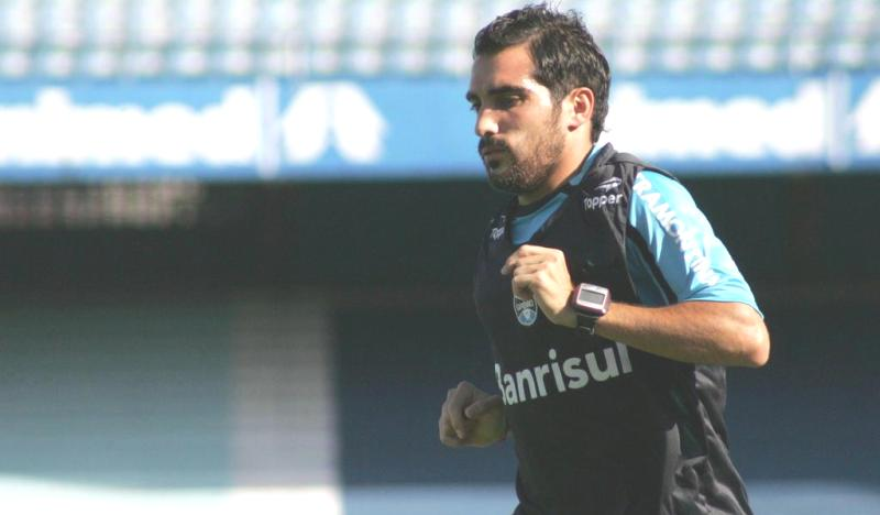 Escudero (Foto: Wesley Santos/Grêmio/Divulgação)