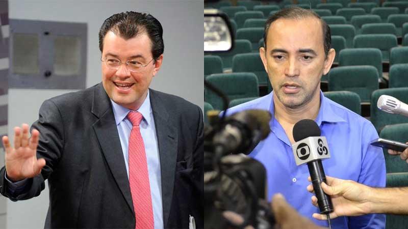 Eduardo Braga critica o governo e alfineta Afonso Lobo ao repercutir denúncias de jornal (Fotos: Divulgação)