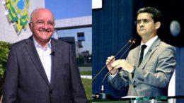 José Melo aposta todas as fichas na candidatura de David Almeida, do partido do senador Omar Aziz (Fotos: Divulgação)