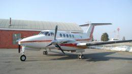 Modelo do avião que decolou do aeroporto de Tefé e caiu logo em seguida (Foto: Divulgação)