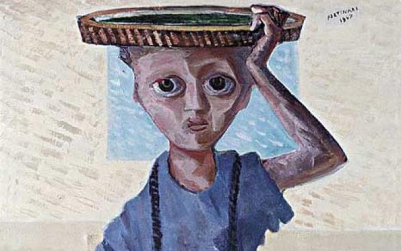 'Menino' é uma das obras de Portinari expostas em vários países (Foto: Divulgação)