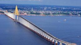 Infraestrutura viária na Região Metropolitana e manutenção da ponte Rio Negro terão dinheiro de empréstimo (Foto: Chico Batata/Secom/Divulgação)