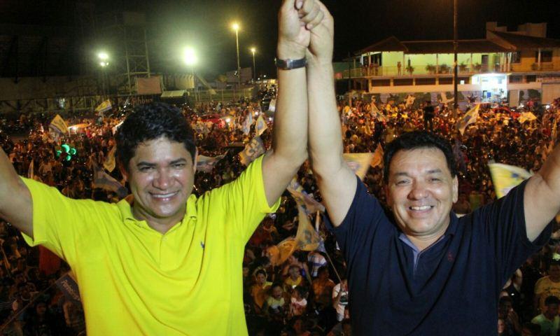 Bi Garcia garantiu o registro de candidatura por uma decisão liminar no Tribunal de Justiça (Foto: Alef Vasconcelos/Divulgação)